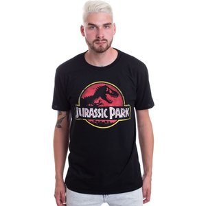 ジュラシックパーク Jurassic Park メンズ Tシャツ トップス Logo T-Shirt black fermart-hobby