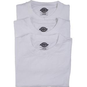 ディッキーズ Dickies メンズ Tシャツ トップス - Pack Of 3 White - T-Shirt white|fermart-hobby