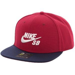 ナイキ Nike SB ユニセックス キャップ 帽子 Pro Red Crush/White Cap red|fermart-hobby