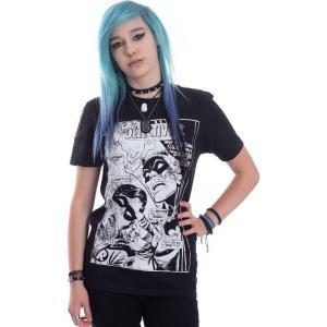 インペリコン Impericon レディース Tシャツ トップス - Dynamic Duo Distressed - T-Shirt black fermart-hobby