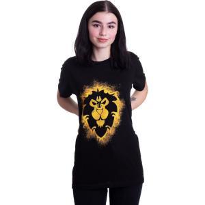 インペリコン Impericon レディース Tシャツ トップス - Alliance - T-Shirt black|fermart-hobby
