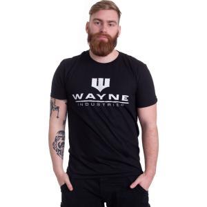 インペリコン Impericon メンズ Tシャツ トップス - Wayne Industries Logo - T-Shirt black fermart-hobby