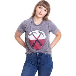 インペリコン Impericon レディース Tシャツ トップス - The Wall Hammers Burnout Grey - T-Shirt grey|fermart-hobby