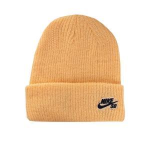 ナイキ Nike ユニセックス ニット ビーニー 帽子 - SB Fisherman CLST Gold/Black - Beanie orange|fermart-hobby