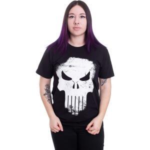 インペリコン Impericon レディース Tシャツ トップス - Distressed Skull Black - T-Shirt black|fermart-hobby