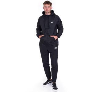 ナイキ Nike メンズ ジャージ アウター Sportswear Black/Black/White Tracksuit black|fermart-hobby