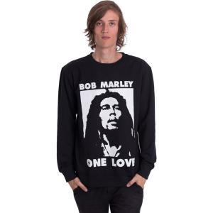 ボブ マーリー Bob Marley メンズ スウェット・トレーナー トップス One Love Sweater black|fermart-hobby