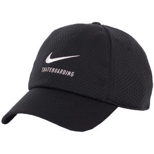ナイキ Nike ユニセックス キャップ 帽子 SB Dry H86 Swoosh Black/White Cap black|fermart-hobby