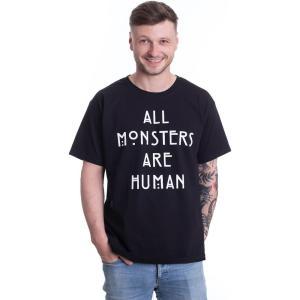 インペリコン Impericon メンズ Tシャツ トップス - All Monster Are Human - T-Shirt black fermart-hobby
