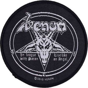 ヴェノム Venom グッズ - In League With Satan - Patch black|fermart-hobby