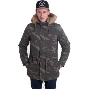 アイアン ネイル Ironnail メンズ ジャケット アウター James Parka Wood Camo Jacket camouflage|fermart-hobby
