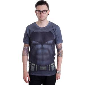 インペリコン Impericon メンズ Tシャツ トップス - Batman Costume Allover - T-Shirt black|fermart-hobby