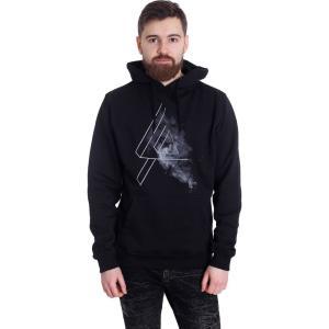 リンキンパーク Linkin Park メンズ パーカー トップス Logo Smoke Hoodie black|fermart-hobby