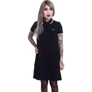 フレッドペリー Fred Perry レディース ワンピース ワンピース・ドレス Twin Tipped Dress black fermart-hobby