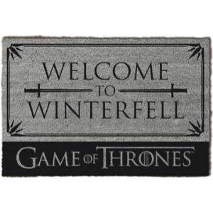ゲーム オブ スローンズ Game Of Thrones グッズ Welcome To Winterfell Doormat grey|fermart-hobby