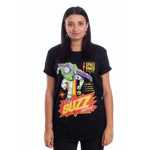インペリコン Impericon レディース Tシャツ トップス - The Original Buzz Lightyear - T-Shirt black|fermart-hobby