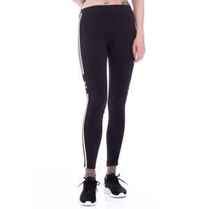 アディダス Adidas レディース スパッツ・レギンス インナー・下着 - 3 Stripes Black - Leggings black|fermart-hobby