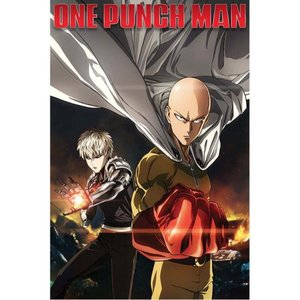 ワンパンマン One Punch Man グッズ Destruction Poster black|fermart-hobby