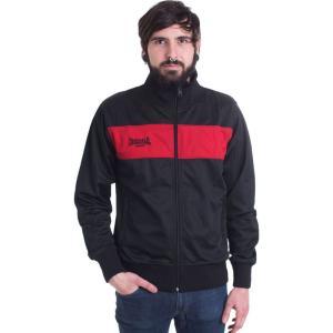ロンズデール Lonsdale メンズ ジャケット アウター Alnwick Black/Red Jacket black|fermart-hobby