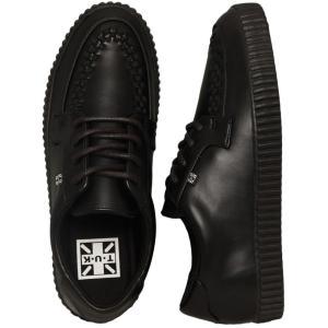 ティーユーケー T.U.K. レディース ブーツ シューズ・靴 EZC Creeper Vegan Basic Black Girl Shoes black fermart-hobby