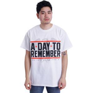 ア デイ トゥ リメンバー A Day To Remember メンズ Tシャツ トップス Hardcore White T-Shirt white|fermart-hobby