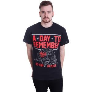 ア デイ トゥ リメンバー A Day To Remember メンズ Tシャツ トップス No War T-Shirt black|fermart-hobby