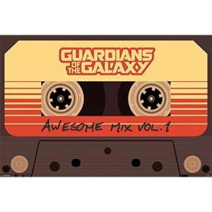ガーディアンズ オブ ギャラクシー Guardians Of The Galaxy グッズ Awesome Mix Vol. 1 Poster multicolored|fermart-hobby