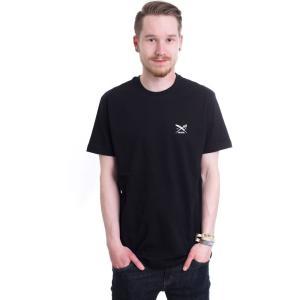 アーライダイリー Iriedaily メンズ Tシャツ トップス Chestflag Black T-Shirt black|fermart-hobby