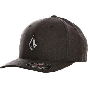ボルコム Volcom ユニセックス キャップ 帽子 - Full Stone HTHR XFIT Charcoal Heather - Cap grey|fermart-hobby