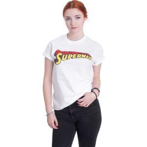 インペリコン Impericon レディース Tシャツ トップス - Telescopic Crackle Logo White - T-Shirt white|fermart-hobby