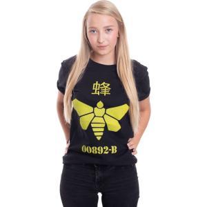 インペリコン Impericon レディース Tシャツ トップス - Methlamine Barrel Bee - T-Shirt black fermart-hobby