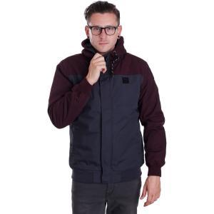 アーライダイリー Iriedaily メンズ ジャケット アウター Eissegler Red Wine Jacket burgundy|fermart-hobby