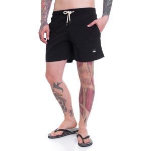 アイアン ネイル Ironnail メンズ 海パン 水着・ビーチウェア David Black/Black Board Shorts black|fermart-hobby