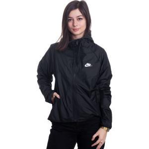 ナイキ Nike レディース ジャージ アウター - Sportswear Windrunner Black/Black/White - Track Jacket|fermart-hobby