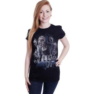 インペリコン Impericon レディース Tシャツ トップス - Killin It - T-Shirt black|fermart-hobby