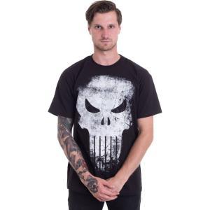 インペリコン Impericon メンズ Tシャツ トップス - Distressed Skull - T-Shirt black|fermart-hobby