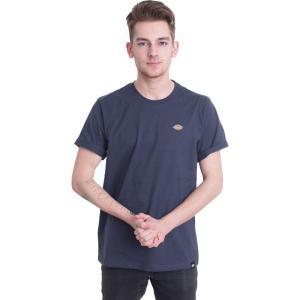 ディッキーズ Dickies メンズ Tシャツ トップス - Stockdale Navy Blue - T-Shirt blue|fermart-hobby