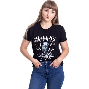 インペリコン Impericon レディース Tシャツ トップス - Kakashi Lightning - T-Shirt black|fermart-hobby