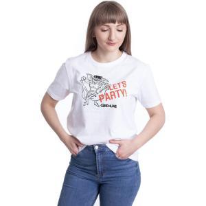 インペリコン Impericon レディース Tシャツ トップス - Let's Party White - T-Shirt white|fermart-hobby