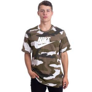 ナイキ Nike メンズ Tシャツ トップス - NSW Camo 1 Light Bone/White - T-Shirt camouflage fermart-hobby