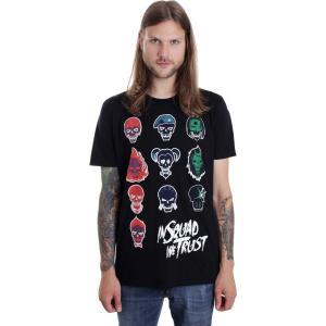 インペリコン Impericon メンズ Tシャツ トップス - In Squad Faces - T-Shirt black fermart-hobby