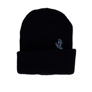 サンタクルーズ Santa Cruz レディース ニット 帽子 Screaming Mini Hand Black Beanie black|fermart-hobby