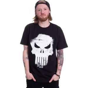 インペリコン Impericon メンズ Tシャツ トップス - Distressed Skull Black - T-Shirt black|fermart-hobby