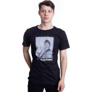 インペリコン Impericon メンズ Tシャツ トップス - Spock - T-Shirt black|fermart-hobby