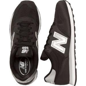 ニューバランス New Balance メンズ スニーカー シューズ・靴 GM500 D Black/Silver Shoes black|fermart-hobby