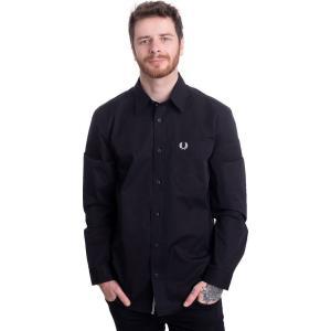 フレッドペリー Fred Perry メンズ シャツ トップス - Button Down Black - Shirt black|fermart-hobby
