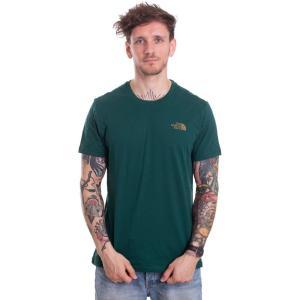 ザ ノースフェイス The North Face メンズ Tシャツ トップス - Simple Dome Night Green - T-Shirt green|fermart-hobby