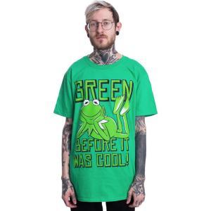 インペリコン Impericon メンズ Tシャツ トップス - Kermit: Green, Before It Was Cool Green - T-Shirt green|fermart-hobby