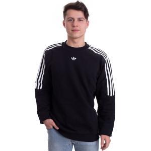 アディダス Adidas メンズ ニット・セーター トップス Radkin Black Sweater black|fermart-hobby