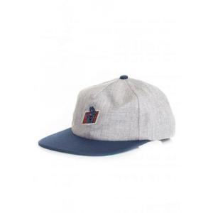 サンタクルーズ Santa Cruz ユニセックス キャップ 帽子 - Work Hand Grey/Navy - Cap grey|fermart-hobby
